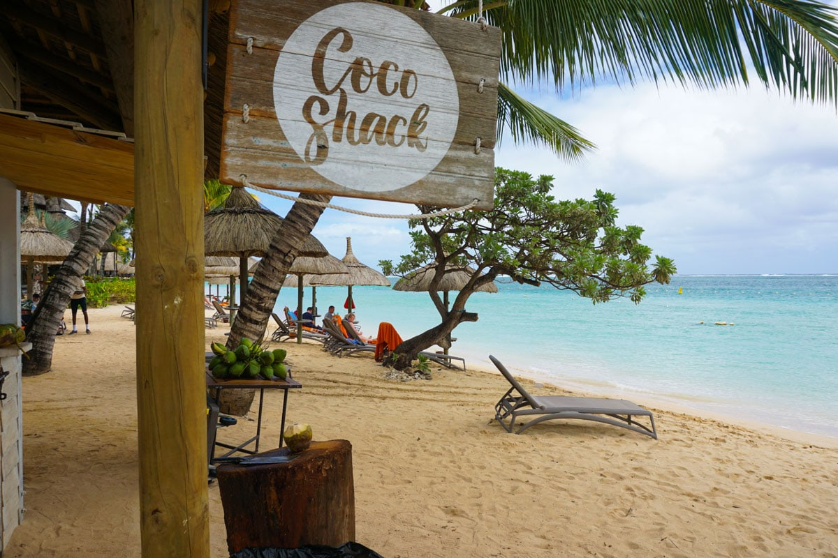 Coco Shack at Heritage Le Telfair, Mauritius
