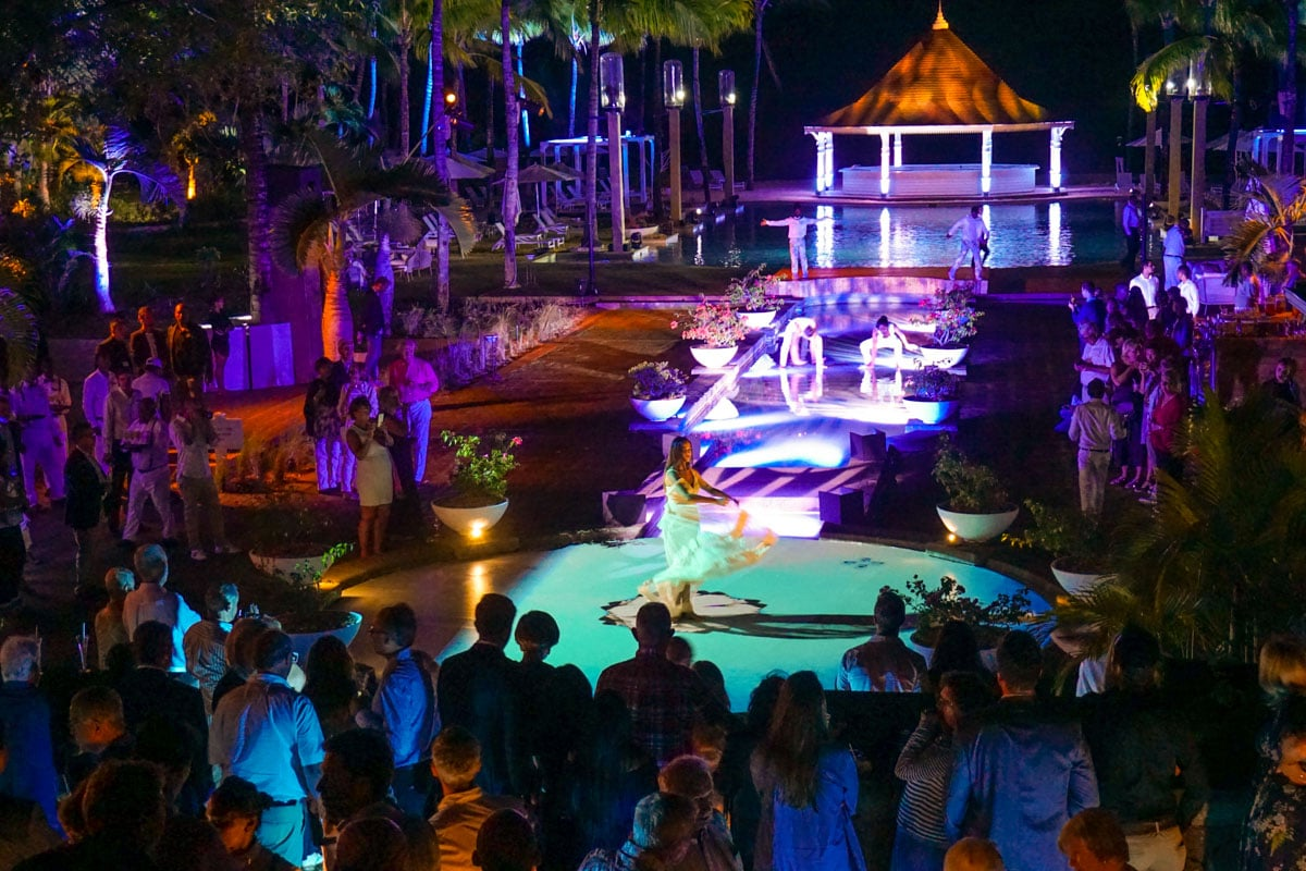 The incredible relaunch party at Heritage Le Telfair, Mauritius