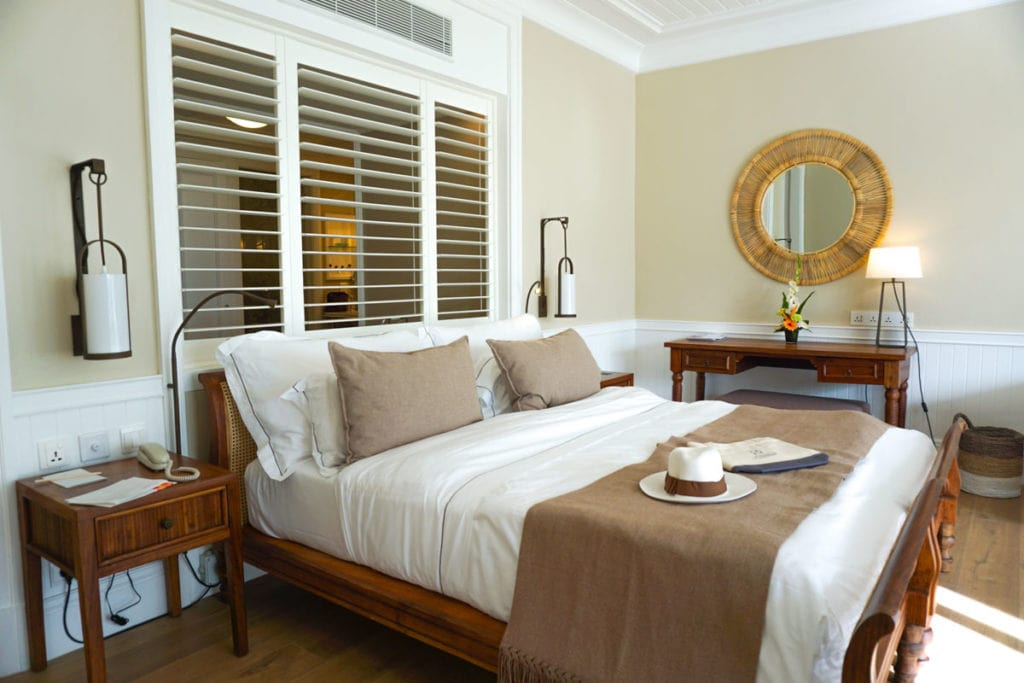 Our suite at Heritage Le Telfair, Mauritius