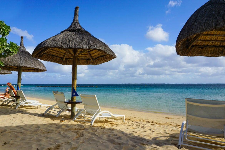 Beach at Heritage Le Telfair, Mauritius