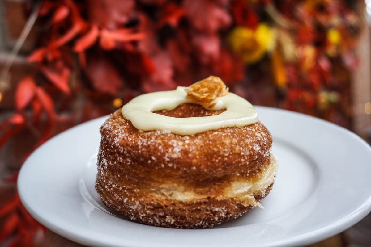 Cronut at Dominique Ansel Bakery, London - one of the best desserts in London