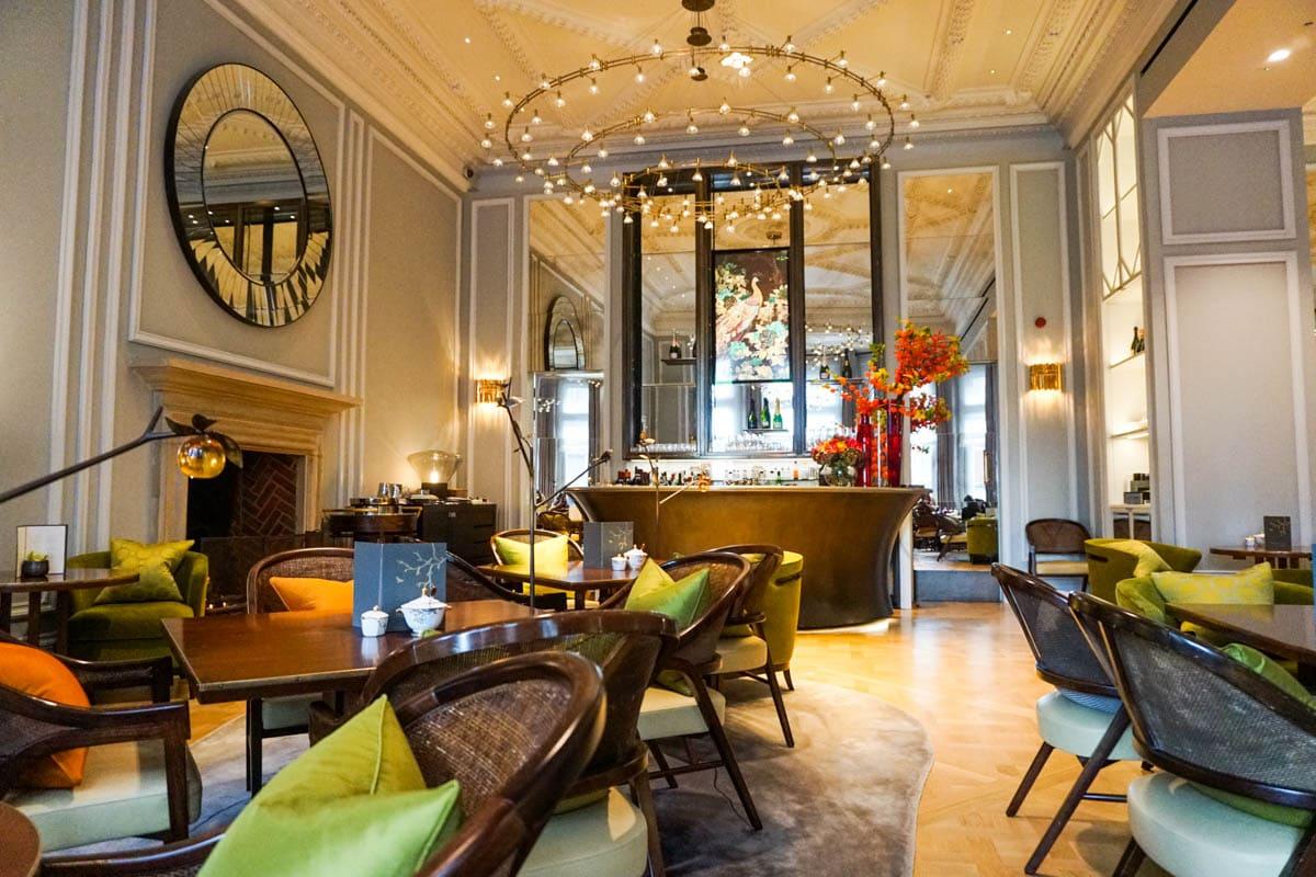 The Rosebery Lounge at the Mandarin Oriental, London