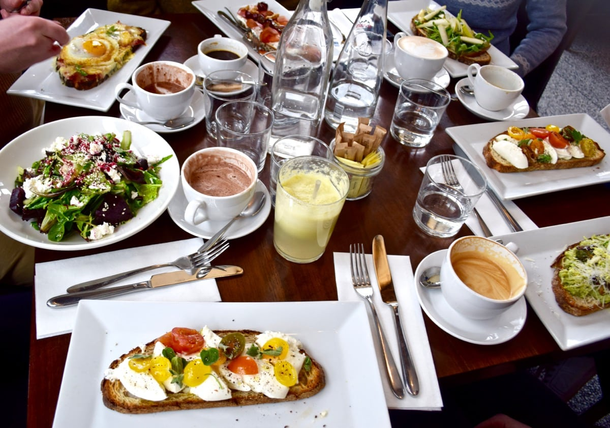 Lunch at Brookfield Place, New York
