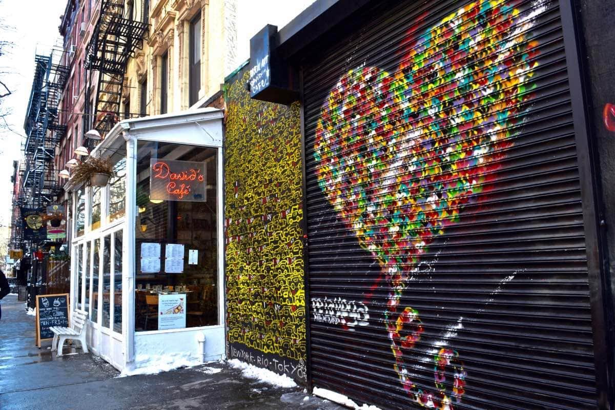Cool street art in New York