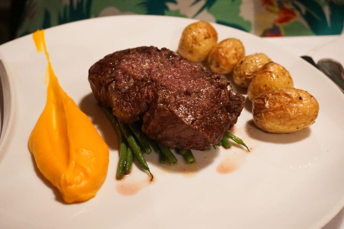 Fillet steak in Nice