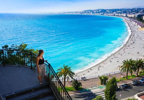 Beautiful views of Nice