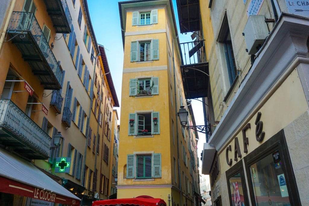 Nice's pretty old town
