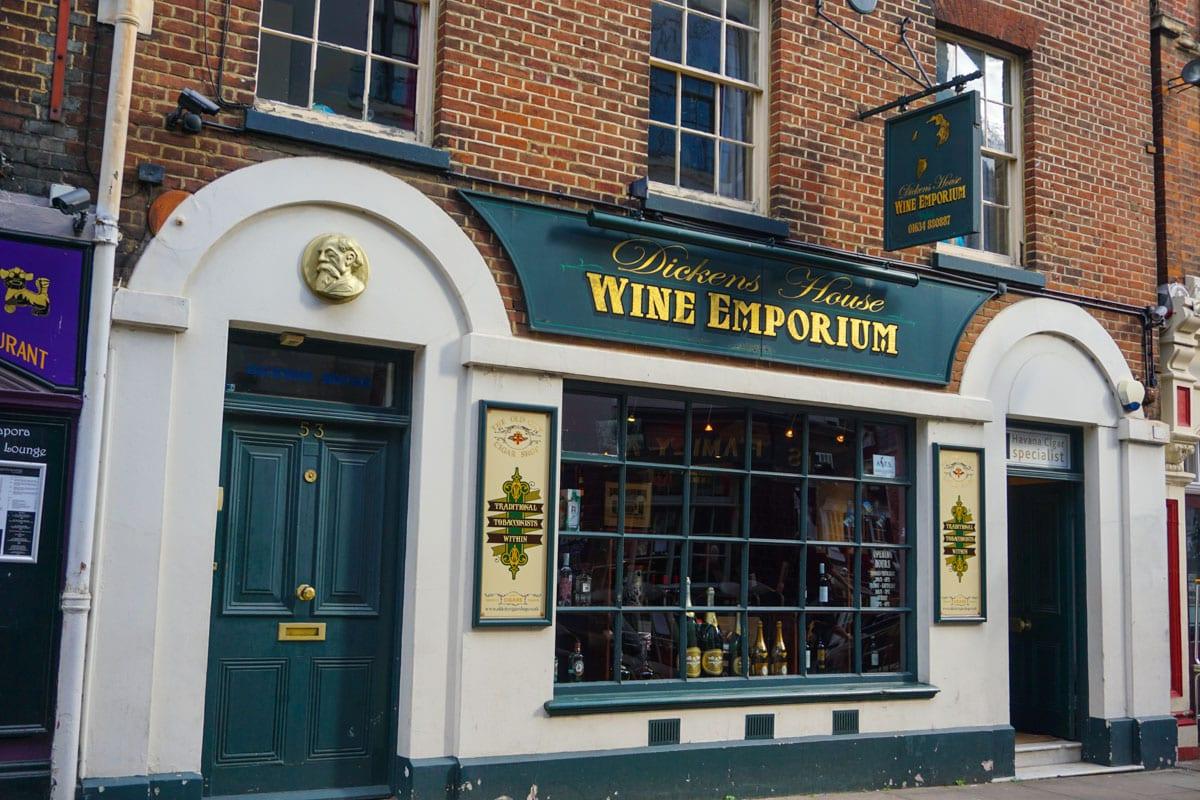 Dickens House Wine Emporium, Rochester