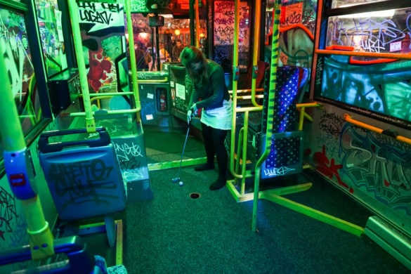Ghetto Golf, Digbeth, Birmingham