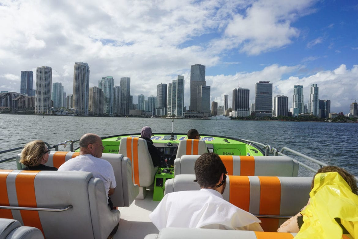 Thriller Miami Speedboat Tour
