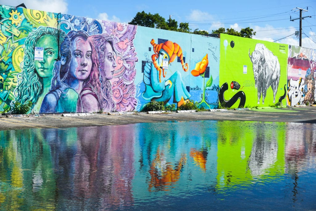 More incredible art near the Wynwood Walls, Miami