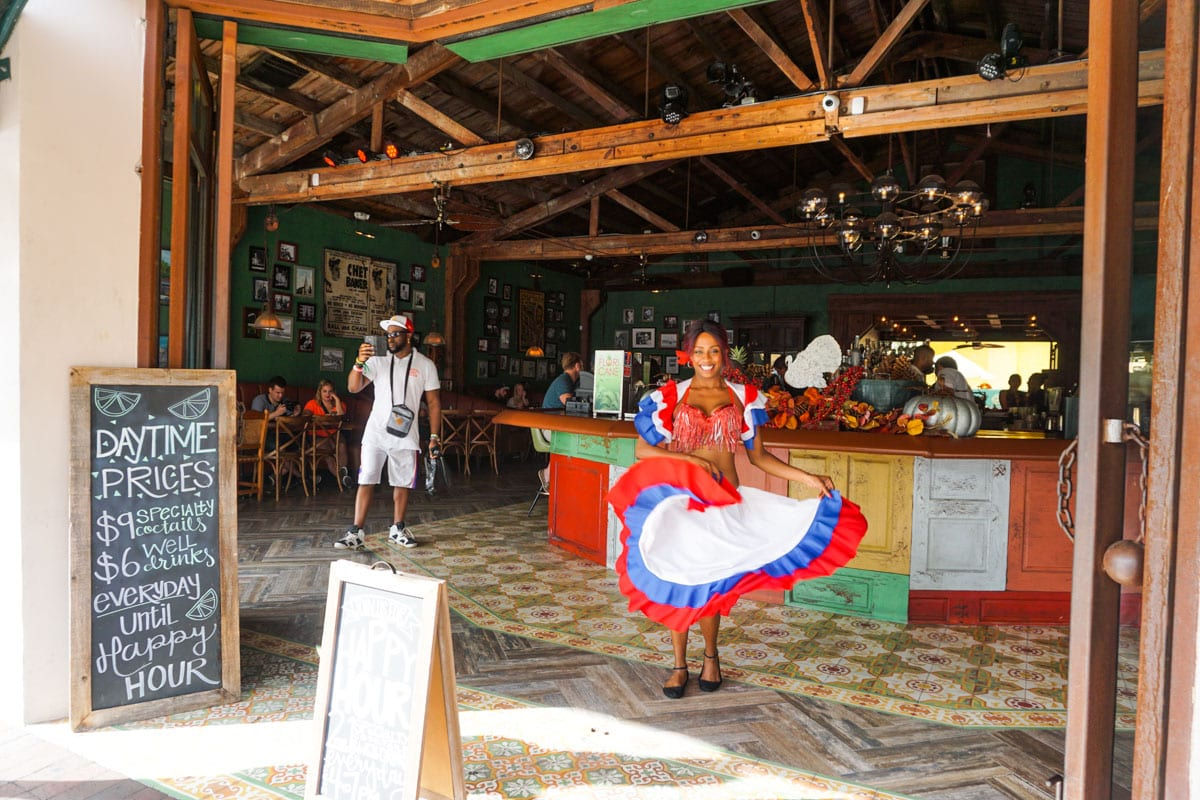 Cuban dancer at Ball and Chain, Little Havana, Miami