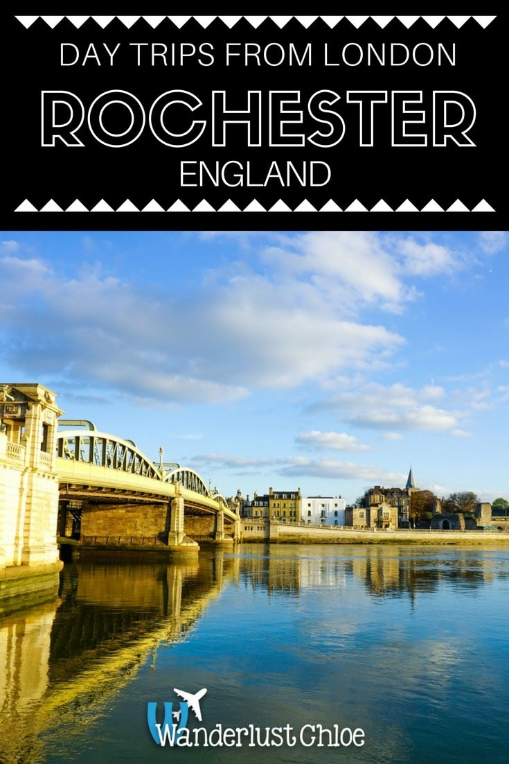 Beautiful day trip to Rochester, Kent, England