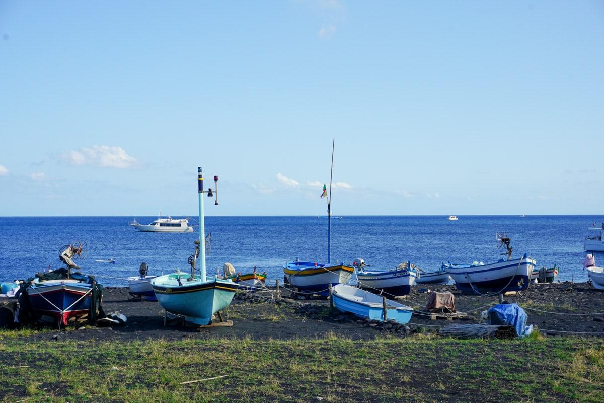 Stromboli Beach, Sicily