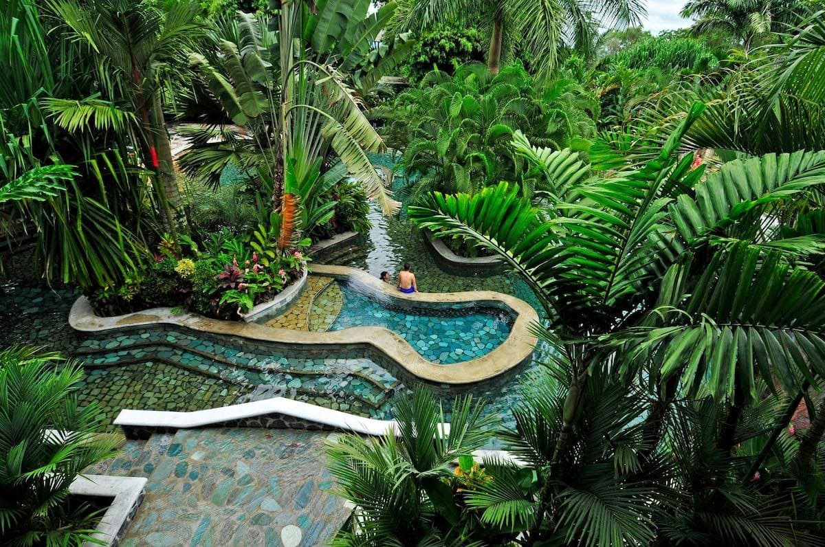 Baldi Hot Springs - one of the top things to do in Costa Rica