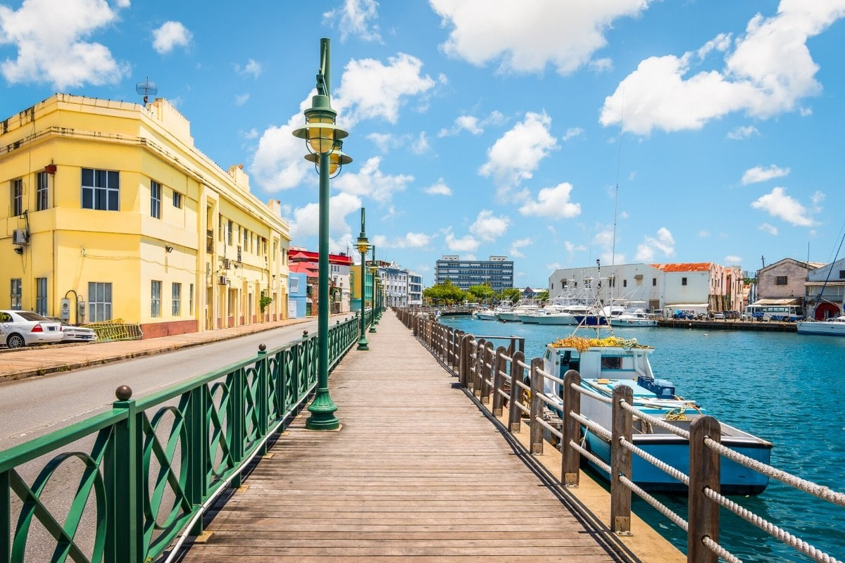 Bridgetown in Barbados, Caribbean
