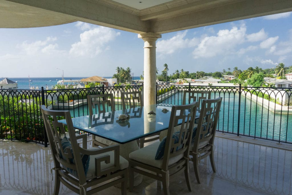 Terrace views at Port Ferdinand, Barbados