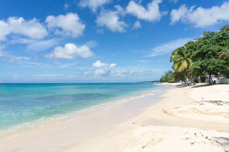 Beautiful beaches in Barbados