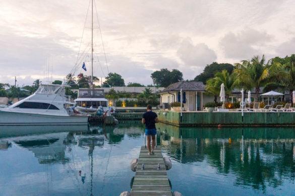 Exploring Port Ferdinand, Barbados