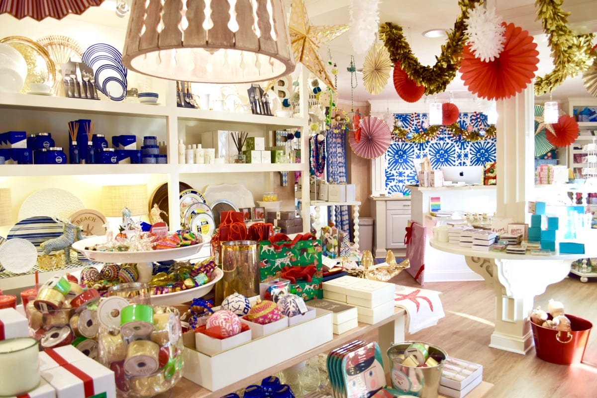 Colourful boutiques in Stuart, Florida