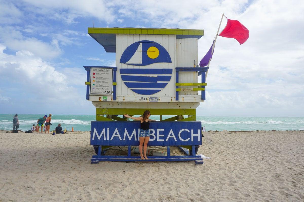 5th Street lifeguard tower, Miami Beach