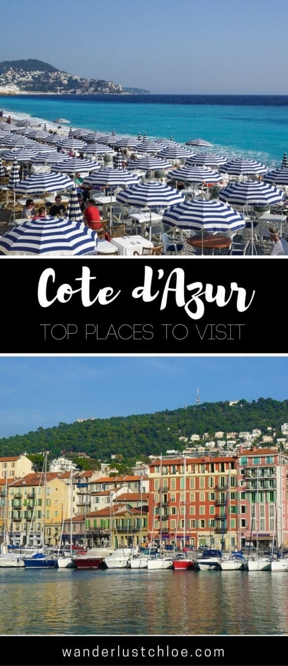 Top Places To Visit In The Cote D'Azur