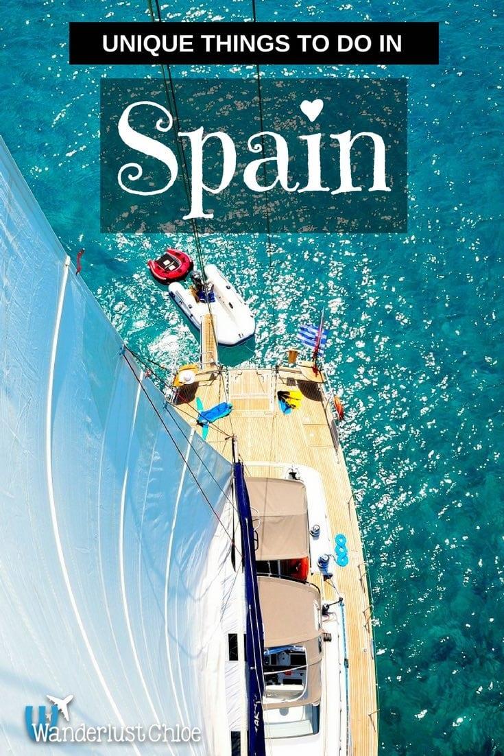 Unique Things To Do Spain