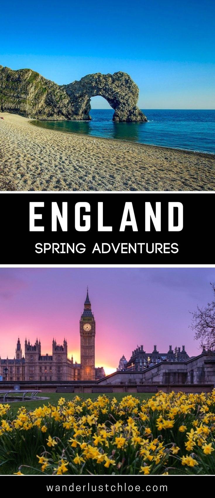England Spring Adventures