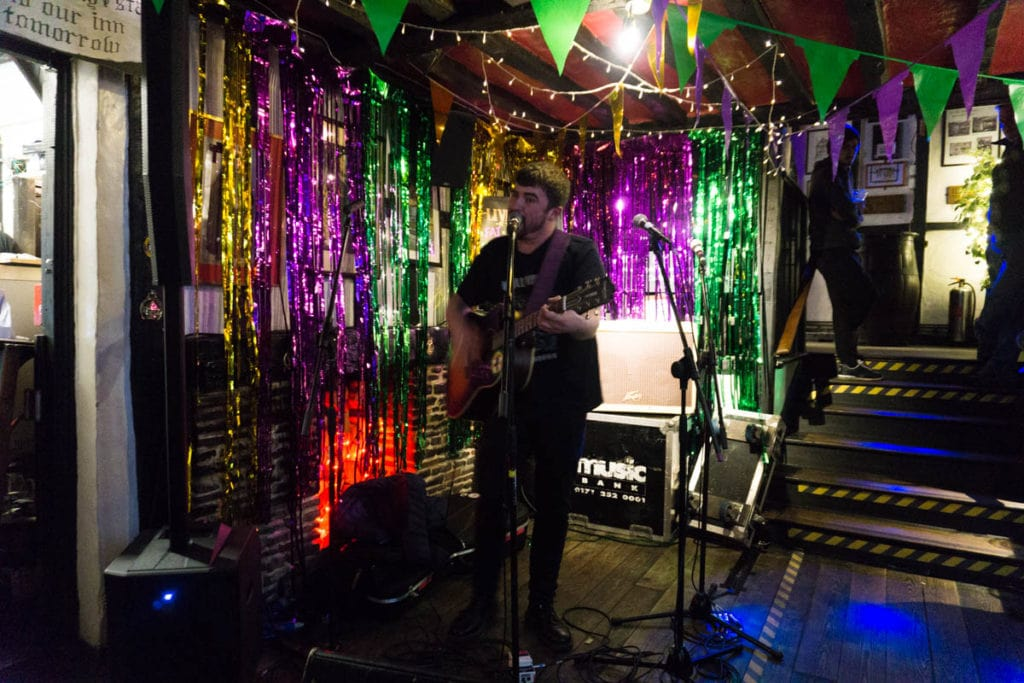 Fat Tuesday live music night in Hastings