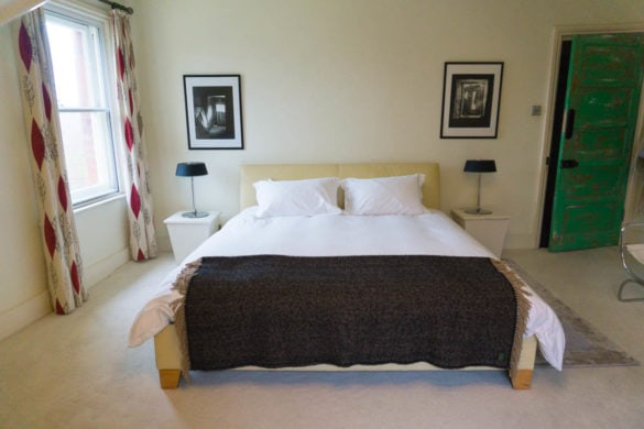 Lovely bedroom at The Printworks, Hastings