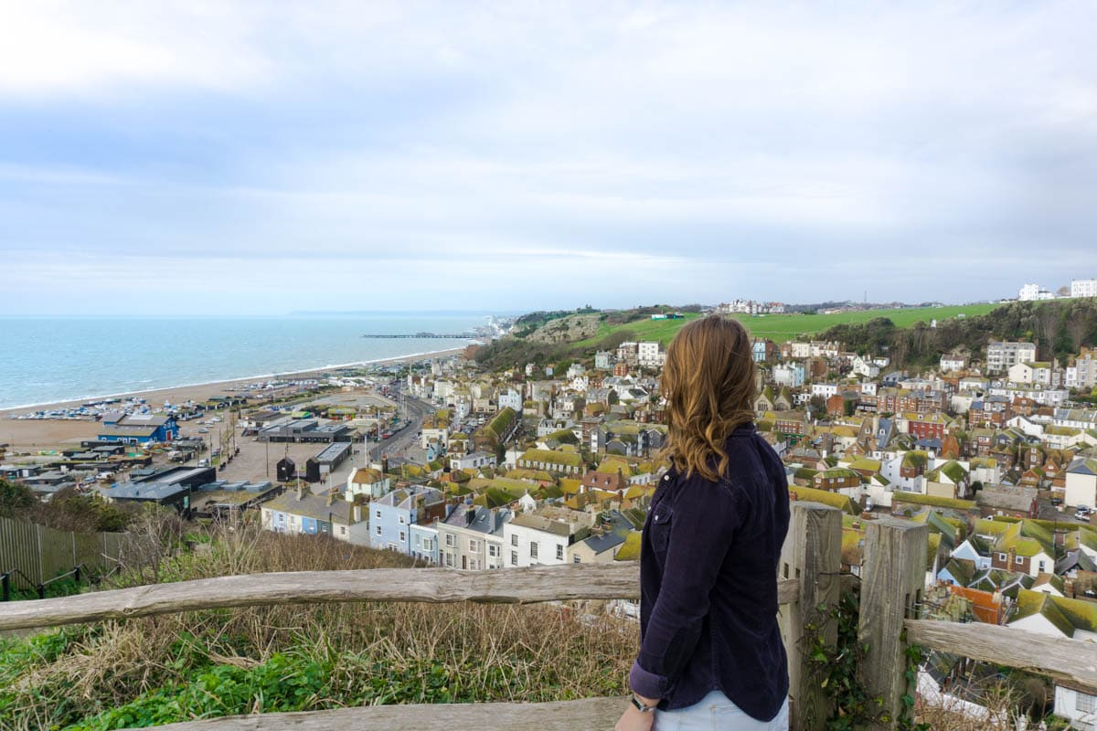 Views from East Hill in Hastings