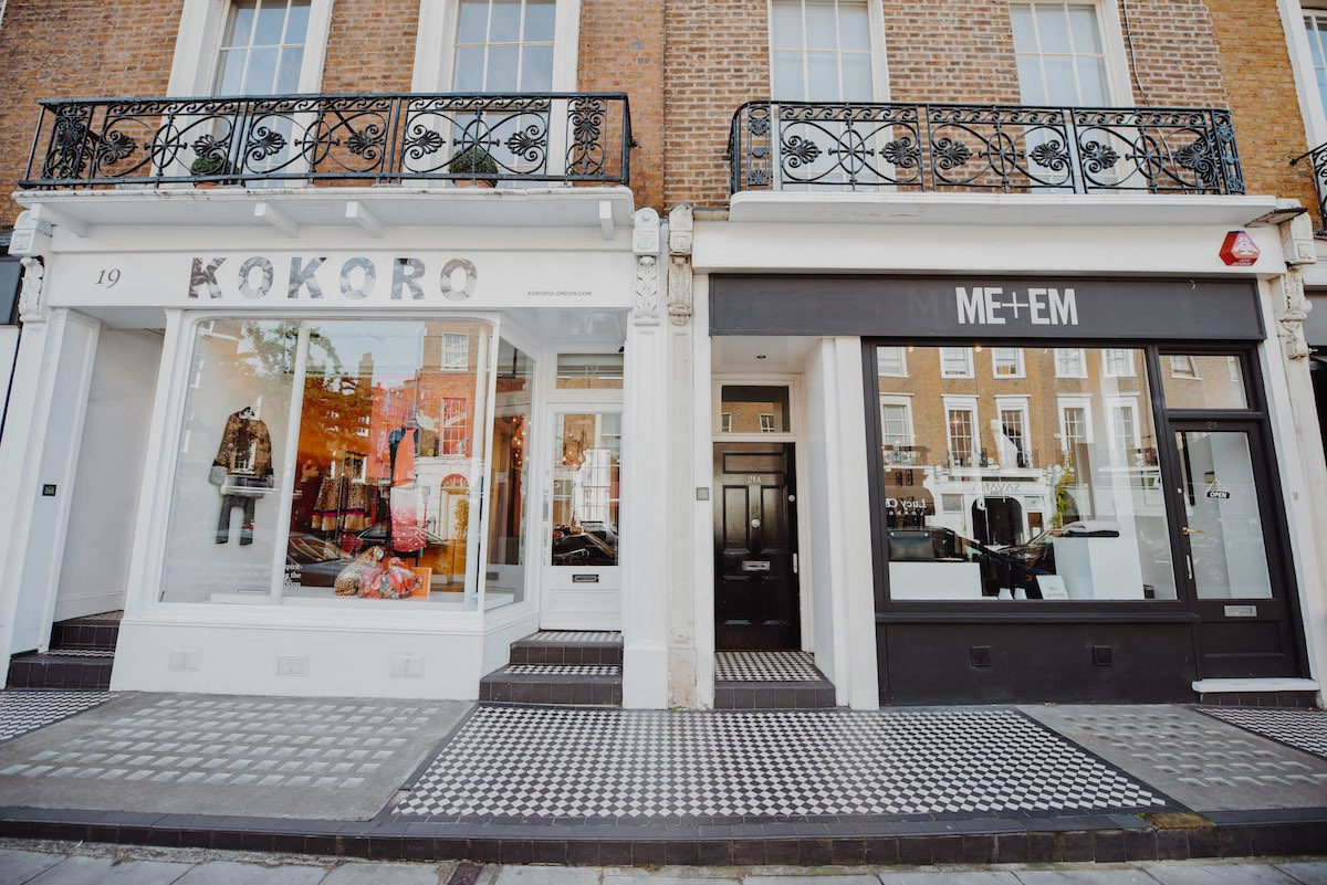 Stores in Connaught Village