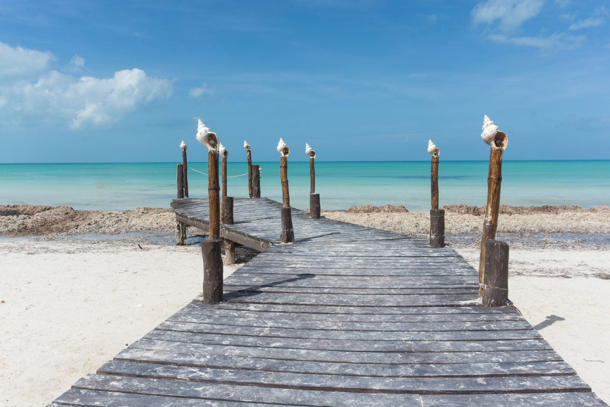 Paradise views in Holbox, Mexico