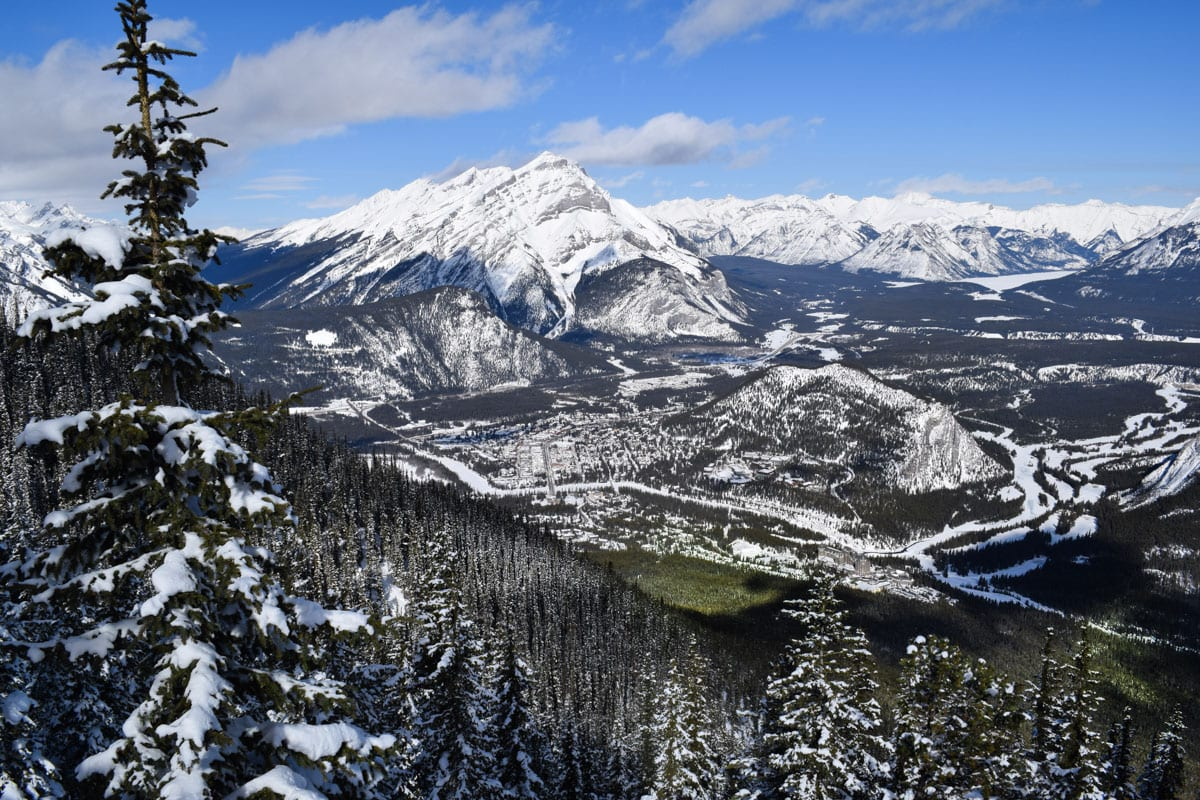 Views from the Banff Gondola, Alberta