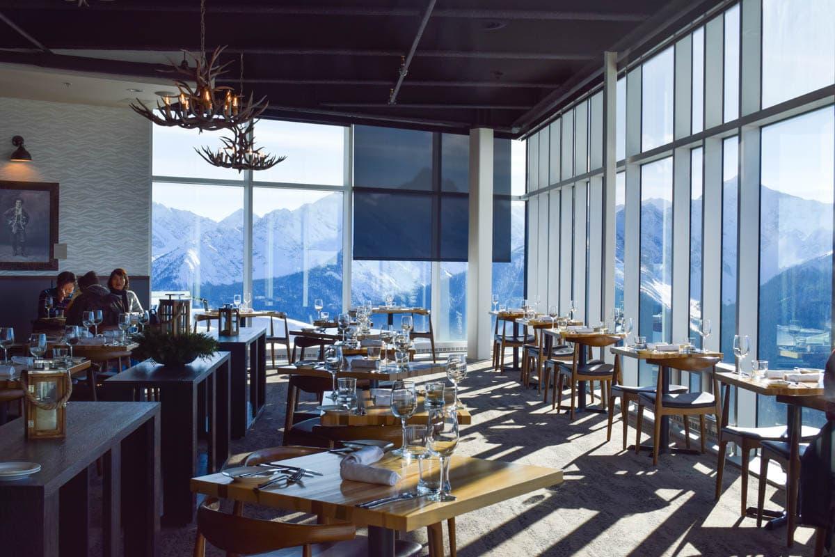 Sky Bistro Restaurant, Banff
