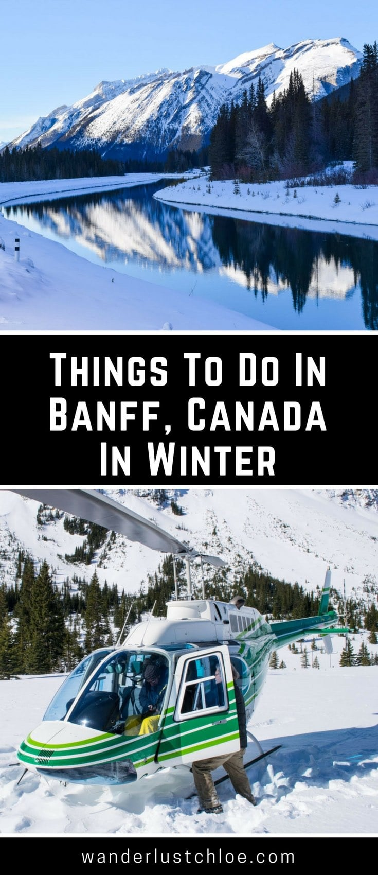 Things To Do In Banff Canada In Winter