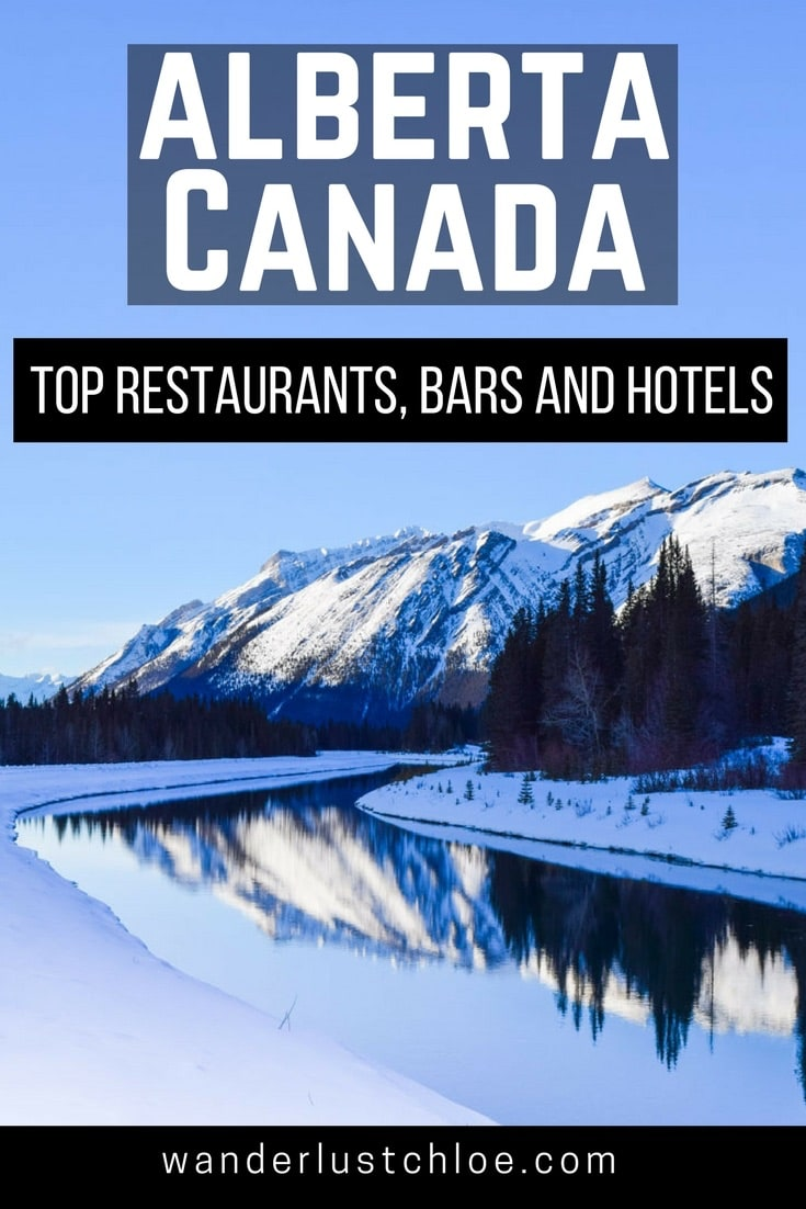 Top Restaurants, Bars And Hotels To Visit In Alberta, Canada In The Winter