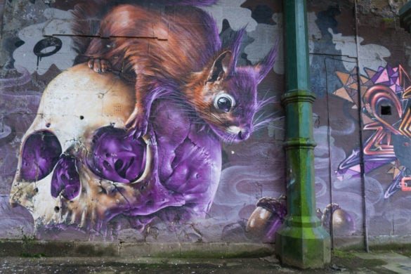 Another incredible mural in Glasgow
