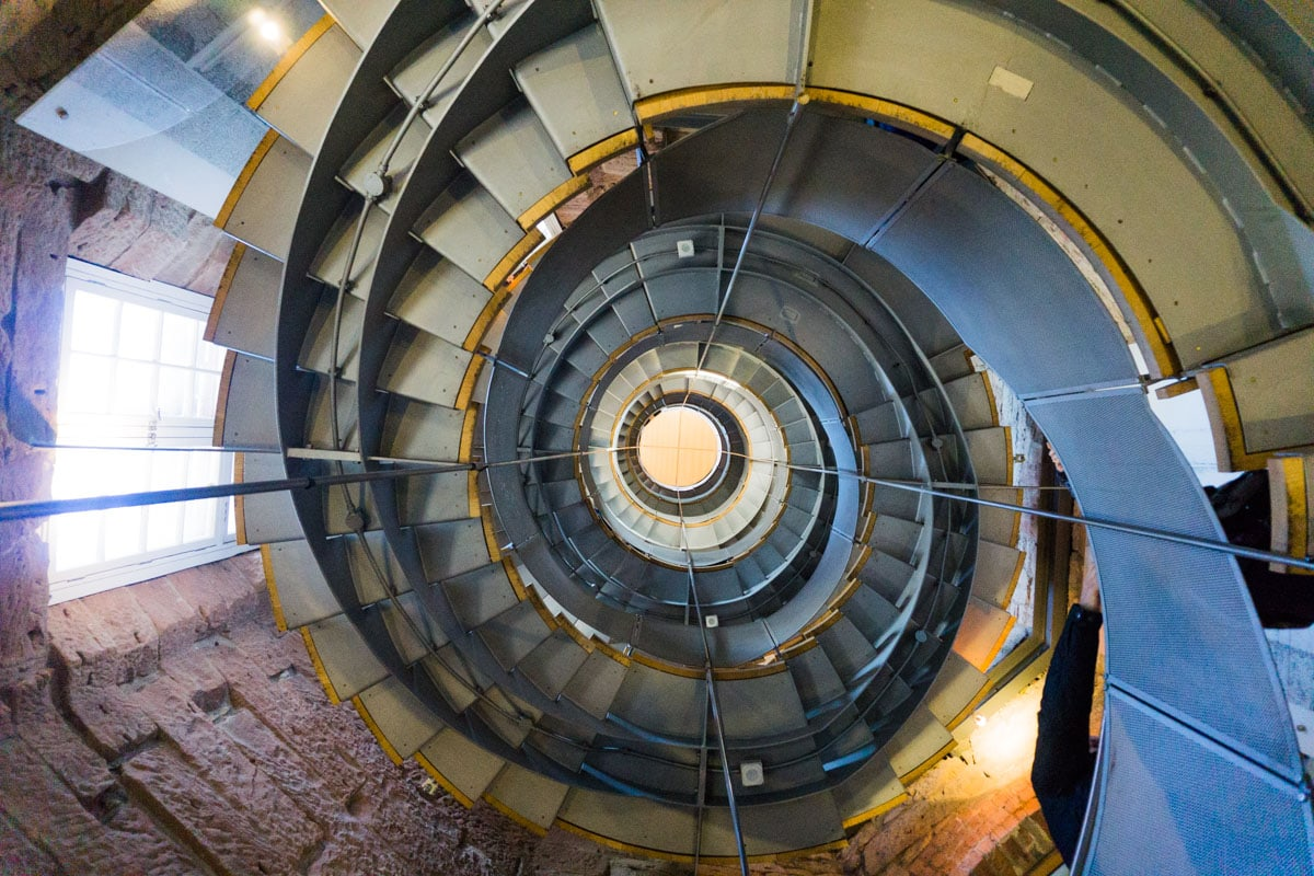 Spiral staircase at The Lighthouse, Glasgow