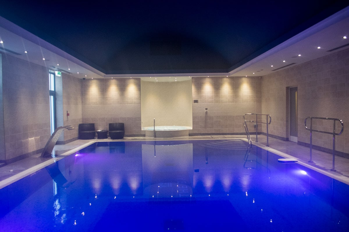 The spa at Fistral Beach Hotel, Newquay