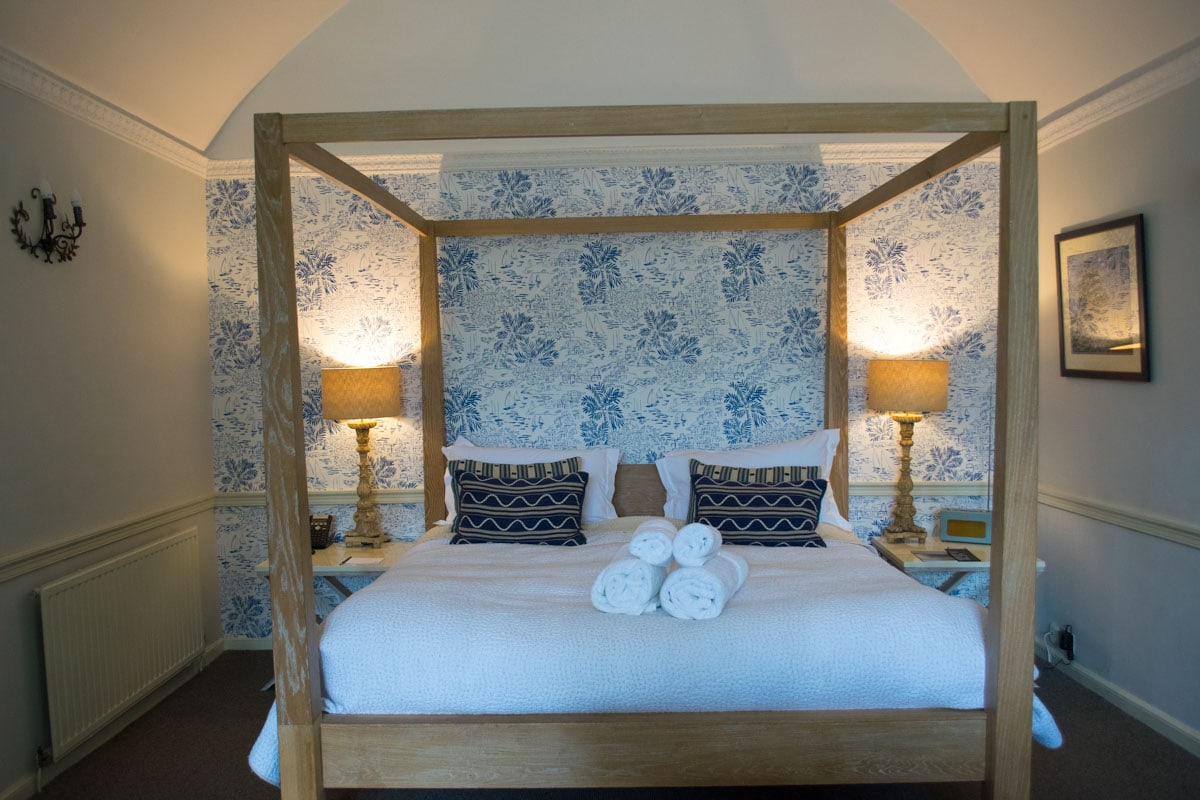 Our room at St Petroc's, Padstow