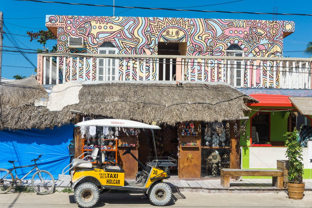 Colourful Holbox, Mexico