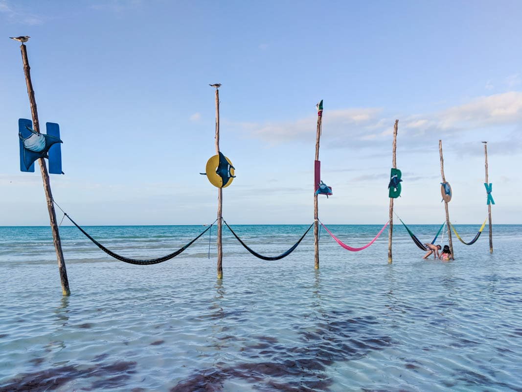 Hammocks on Isla Holbox, Mexico