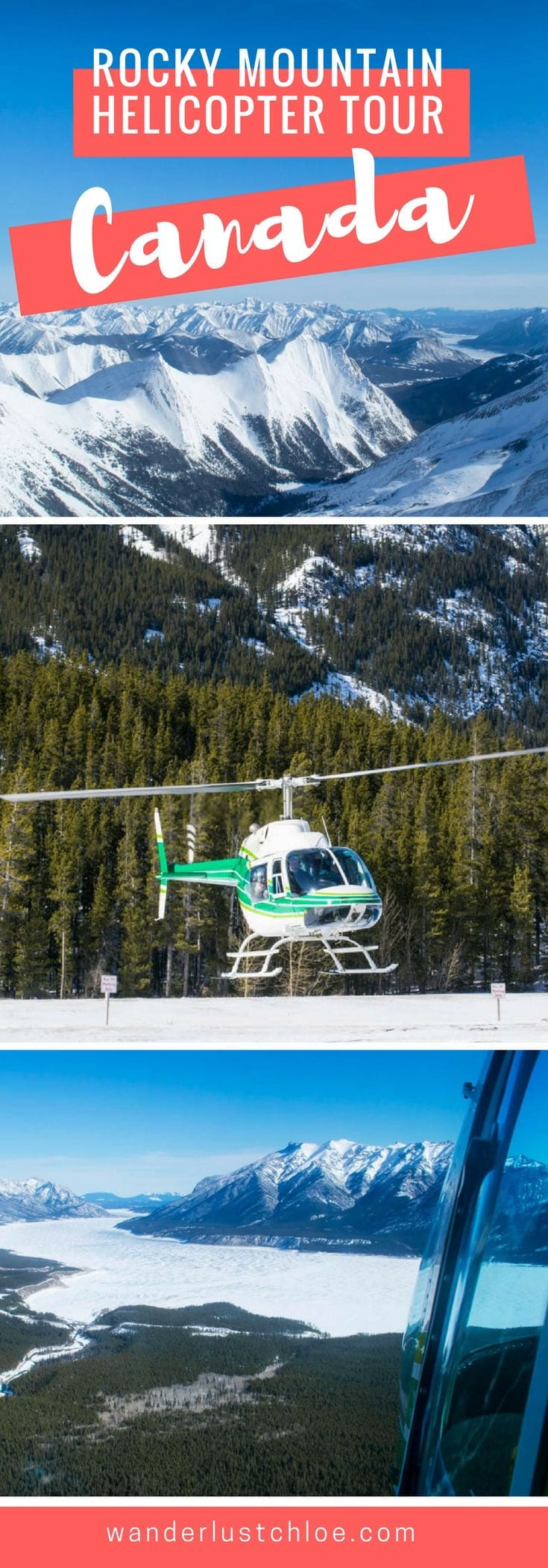Rocky Mountain Helicopter Tour