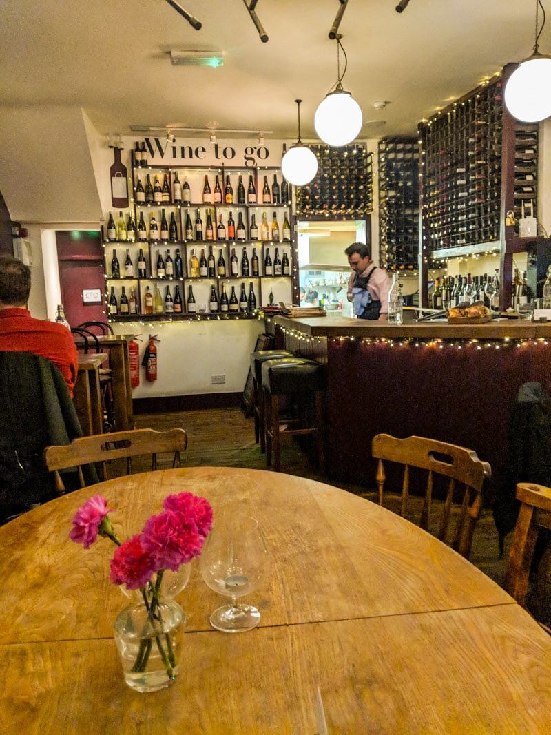 Albertine Wine Bar, Shepherd's Bush, London