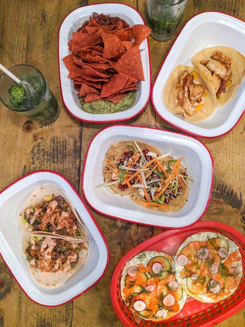Tacos and more at Killer Tomato, Shepherd's Bush, London