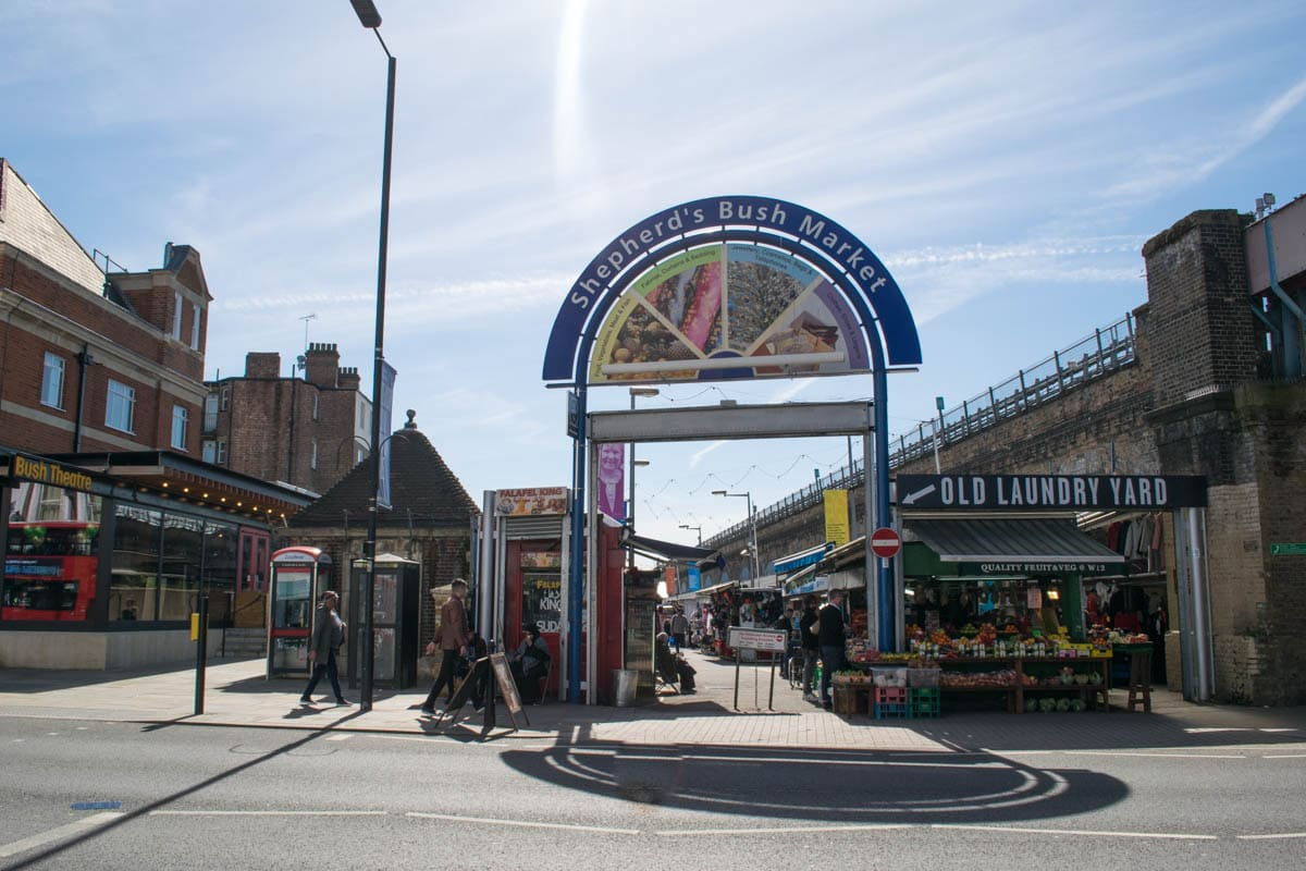 Shepherds Bush Market, London