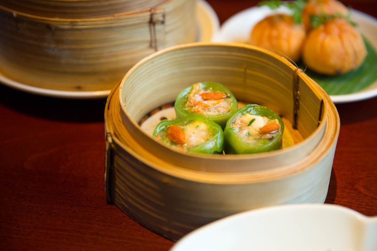 Dim sum at Shikumen, Shepherd's Bush, London