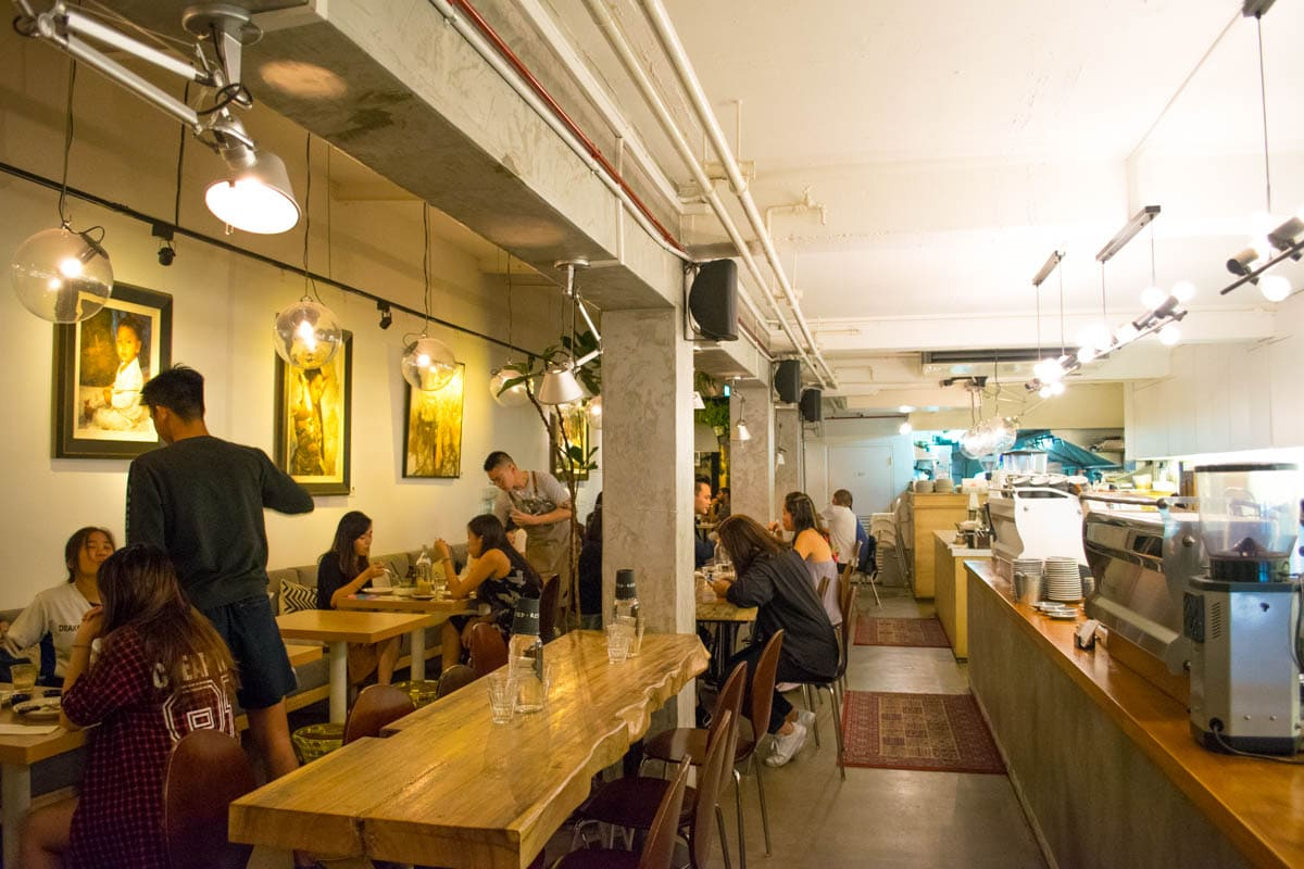 I Loved The Low Hanging Lights, Comfy Chairs And Chic Vibe. From Crunchy  Duck Salads To Juicy Waygu Burgers, And Truffle Sweet Potato Fries, Arrive  Hungry ...