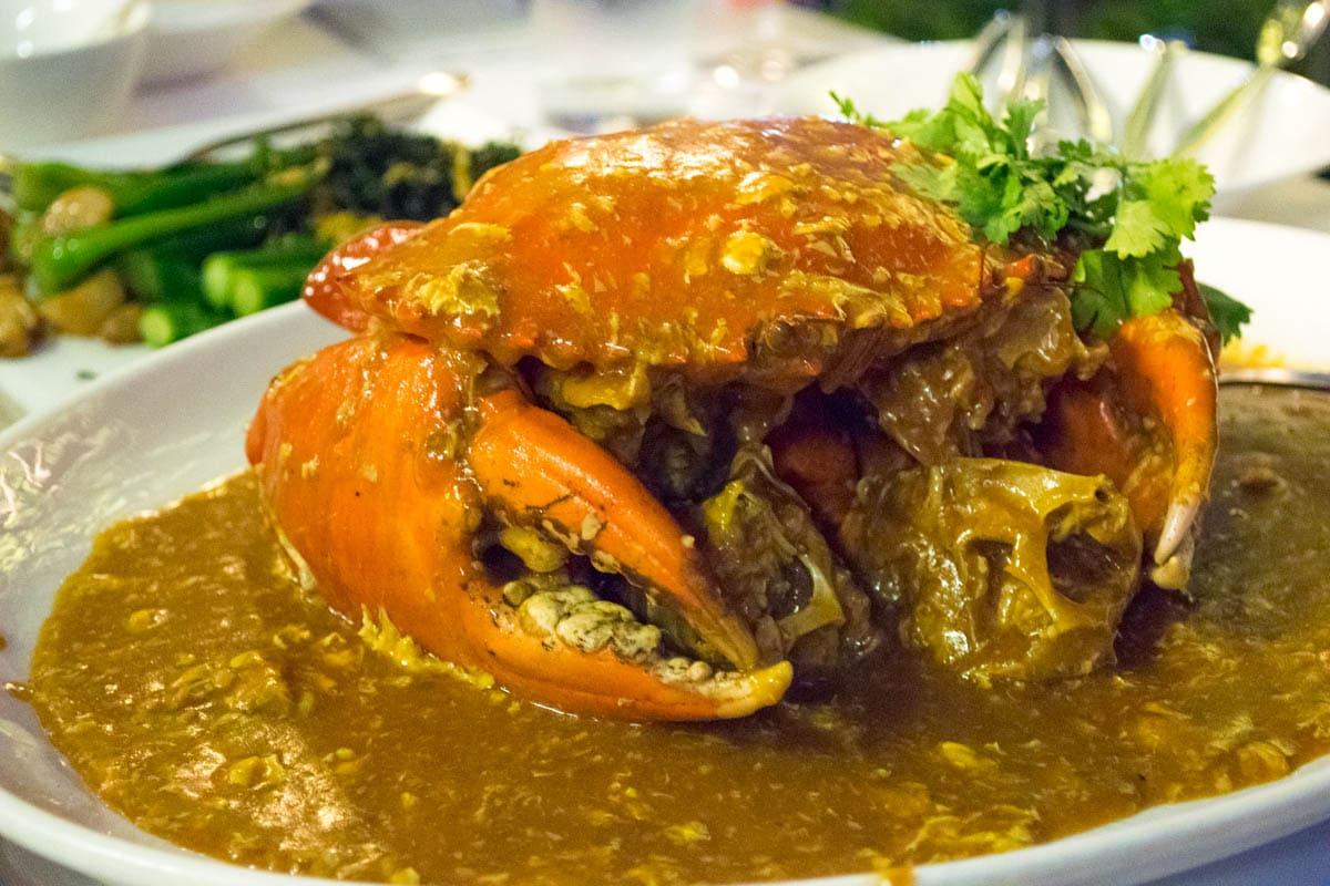Singapore Chilli Crab at Palm Beach, Singapore